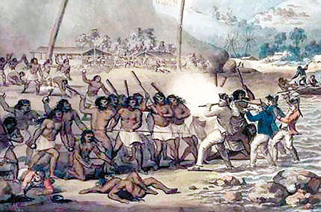 European Mythmaking in the Pacific The Apotheosis of Captain Cook