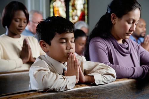 Praying, praying, praying